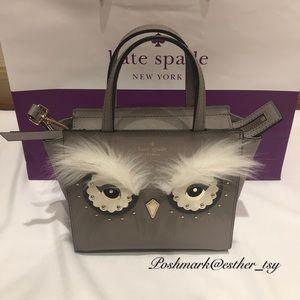 Kate Spade owl mini hadlee